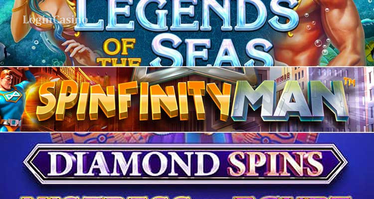 Огляд новинок Legends of the Seas, Spinfinity Man і Diamond Spins Mistress of Egypt